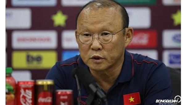 HLV Park Hang-seo: 'Tôi tự hào khi được dẫn dắt các cầu thủ Việt Nam'