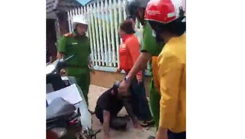 Công an 'lên tiếng' về clip xịt hơi cay, đánh người vi phạm ở Lâm Đồng