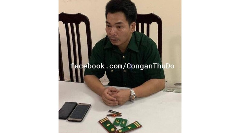 Bắt gã bảo vệ giả Thiếu tá quân đội lừa tình lấy tiền của người phụ nữ