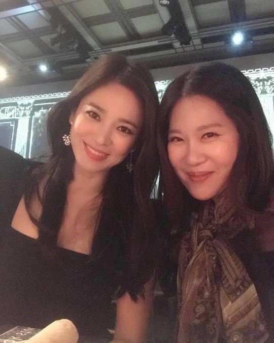 Ảnh của Song Hye Kyo được chia sẻ trên mạng xã hội.