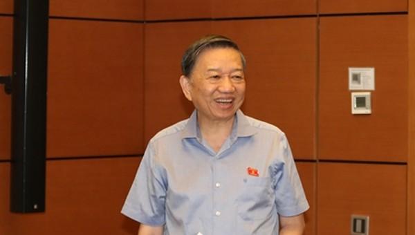 Bộ trưởng Tô Lâm nói về công tác sắp xếp tổ chức, nhân sự Công an