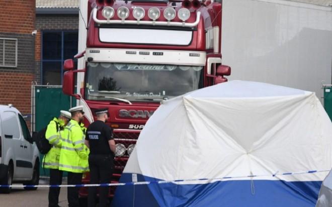 Bộ Công an công bố địa chỉ 39 người Việt Nam chết trong container ở Anh