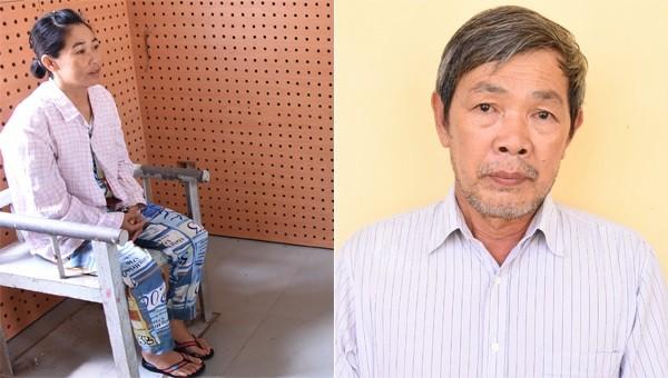 Đối tượng Trần Thị Út và Nguyễn Hữu Phước.