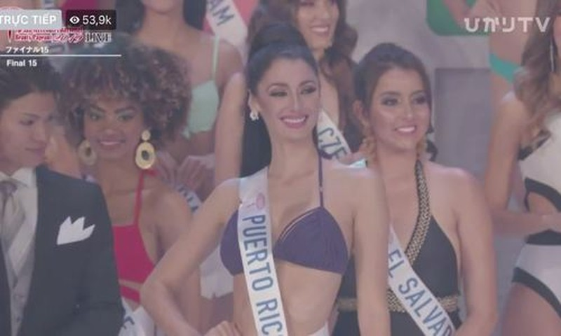 Tường San - top 15 miss international