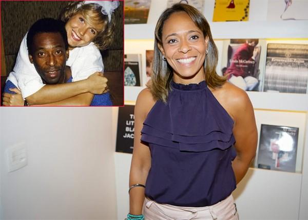 Cô con gái Flavia của Pele và nữ phóng viên