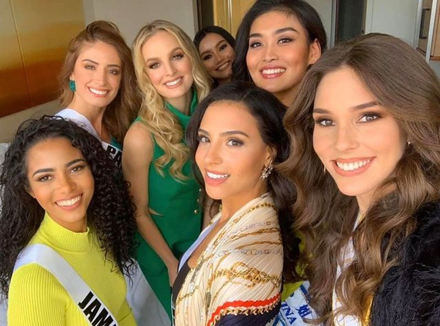 Soi nhan sắc các đối thủ của Hoàng Thuỳ tại cuộc thi Hoa hậu Hoàn vũ 2019 - 18