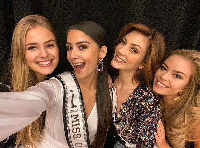 Soi nhan sắc các đối thủ của Hoàng Thuỳ tại cuộc thi Hoa hậu Hoàn vũ 2019 - 12
