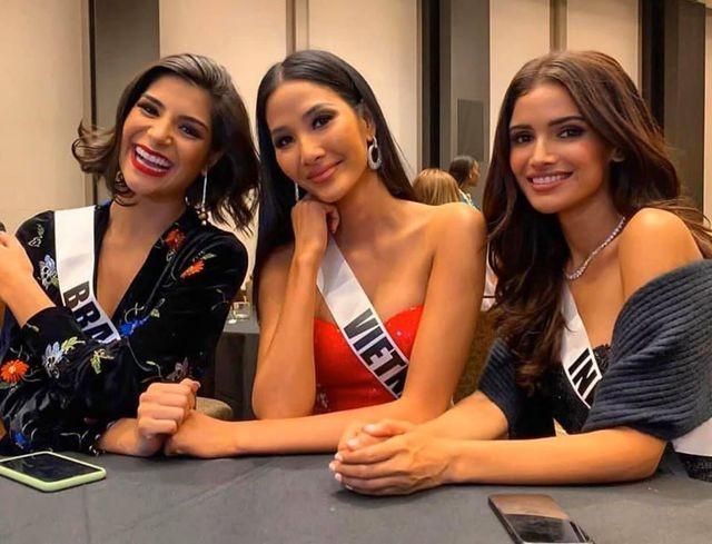 Soi nhan sắc các đối thủ của Hoàng Thuỳ tại cuộc thi Hoa hậu Hoàn vũ 2019 - 2