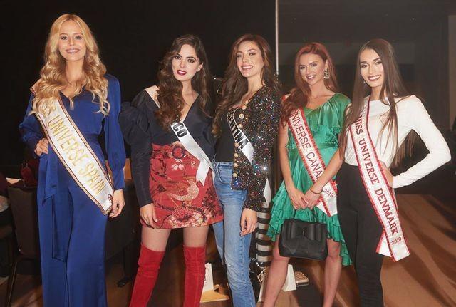 Soi nhan sắc các đối thủ của Hoàng Thuỳ tại cuộc thi Hoa hậu Hoàn vũ 2019 - 39