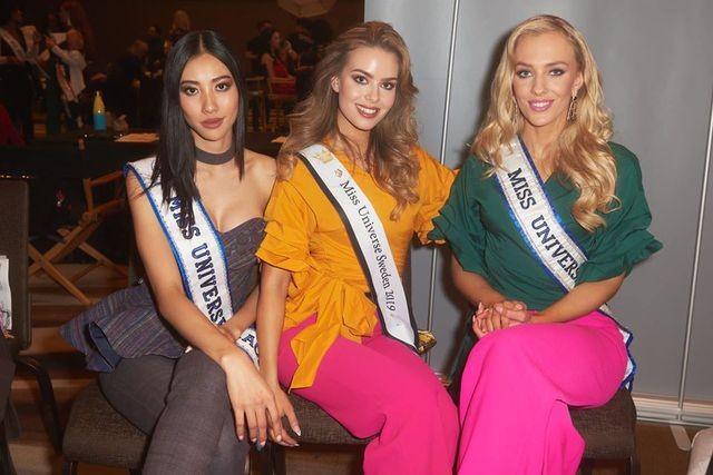 Soi nhan sắc các đối thủ của Hoàng Thuỳ tại cuộc thi Hoa hậu Hoàn vũ 2019 - 38