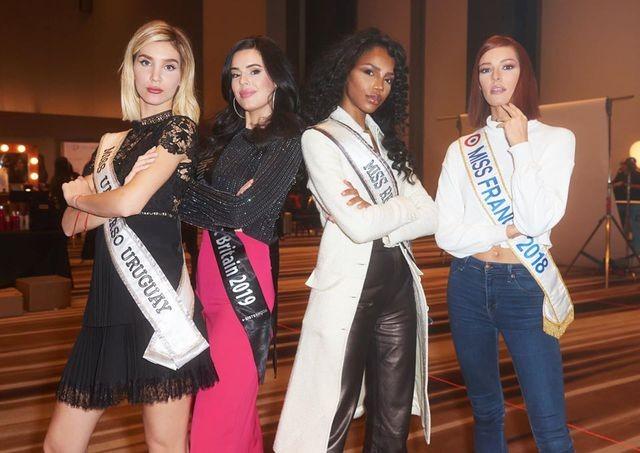 Soi nhan sắc các đối thủ của Hoàng Thuỳ tại cuộc thi Hoa hậu Hoàn vũ 2019 - 16
