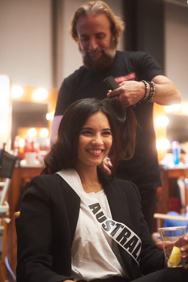 Soi nhan sắc các đối thủ của Hoàng Thuỳ tại cuộc thi Hoa hậu Hoàn vũ 2019 - 35