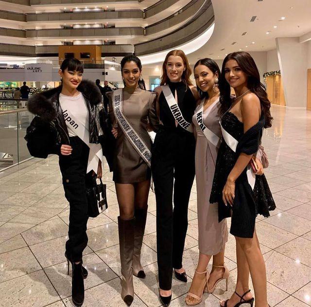Soi nhan sắc các đối thủ của Hoàng Thuỳ tại cuộc thi Hoa hậu Hoàn vũ 2019 - 17