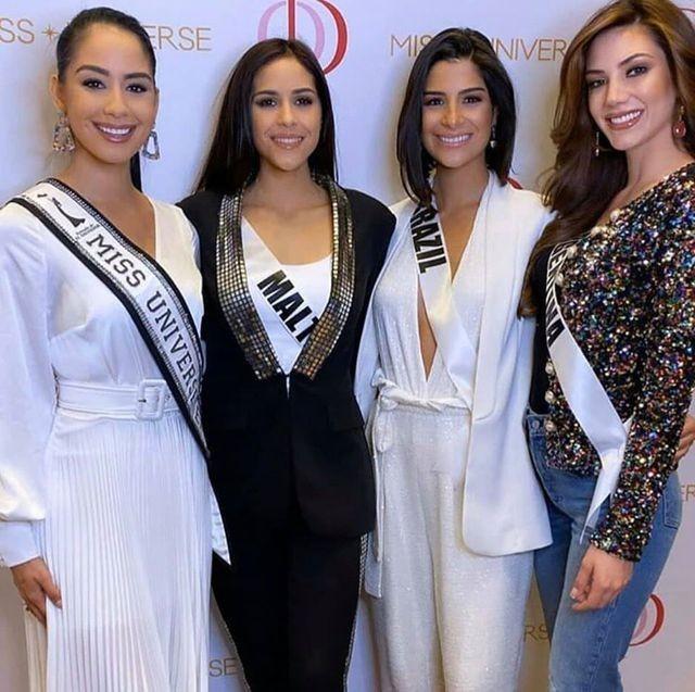 Soi nhan sắc các đối thủ của Hoàng Thuỳ tại cuộc thi Hoa hậu Hoàn vũ 2019 - 5
