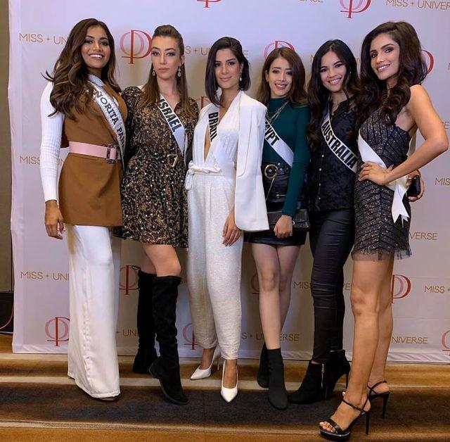 Soi nhan sắc các đối thủ của Hoàng Thuỳ tại cuộc thi Hoa hậu Hoàn vũ 2019 - 8