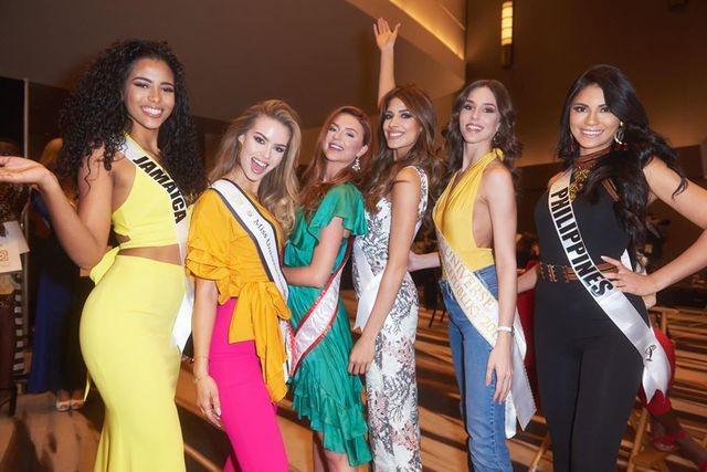 Soi nhan sắc các đối thủ của Hoàng Thuỳ tại cuộc thi Hoa hậu Hoàn vũ 2019 - 9