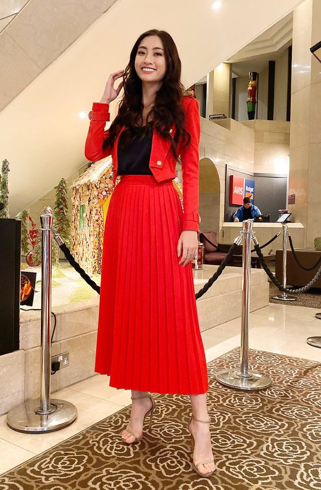 Lương Thùy Linh được chuyên trang sắc đẹp thế giới thăng hạng lên Top 4 - 3