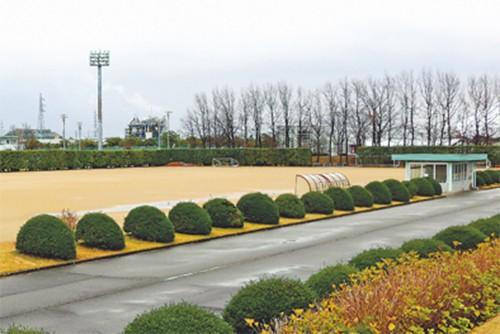 Sân bóng được dùng tổ chức giải bóng đá người Việt hồi tháng 8. Ảnh: NNN