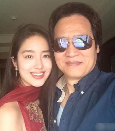 Dương Thái Ngọc và Trần Kim Phi. Ảnh: Weibo.