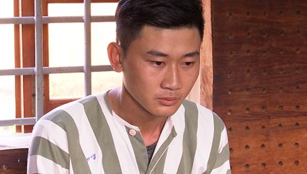 Huỳnh Tấn Lợi bị tạm giữ. Ảnh: Công an tỉnh Long An