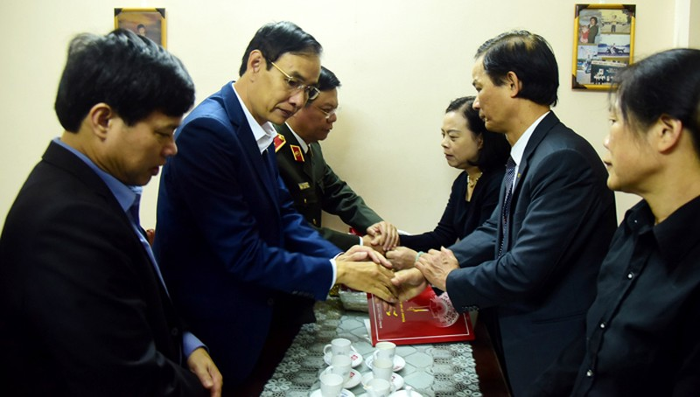 Lãnh đạo Hà Nội biết ơn sự hy sinh của 3 công an tại Đồng Tâm