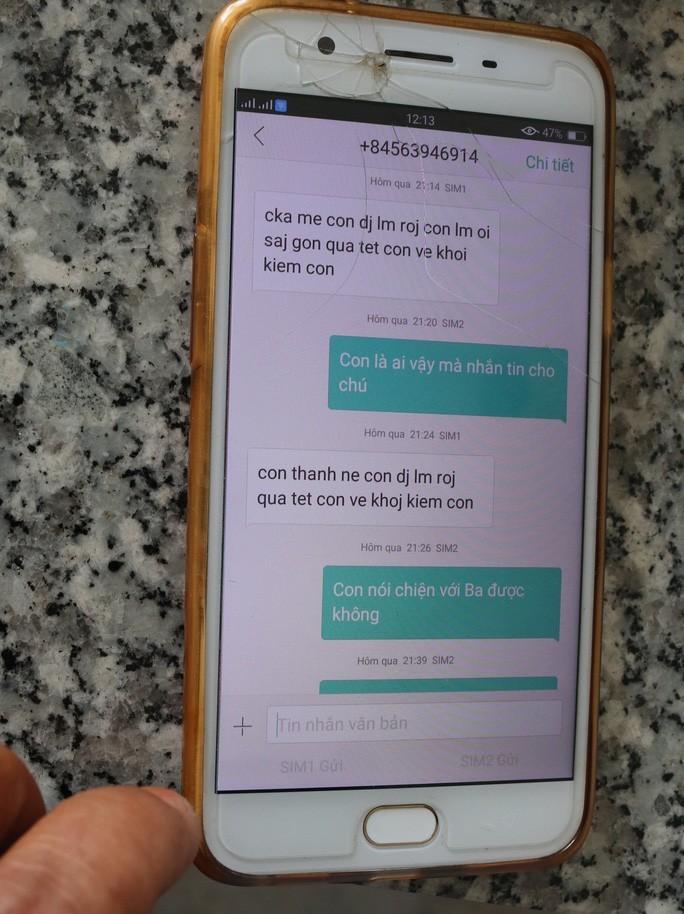 Nữ sinh lớp 12 mất tích bí ẩn kèm tin nhắn con đi làm ở Sài Gòn - Ảnh 2.