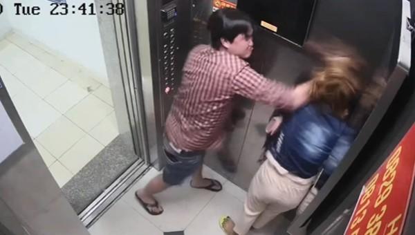 Yêu cầu điều tra, xử nghiêm vụ gã trai đánh dã man người tình trong thang máy ở TP HCM
