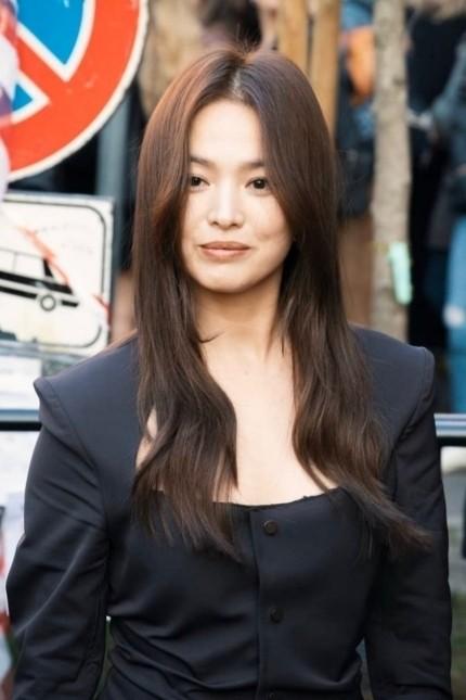 Song Hye Kyo tại Milan. Ảnh: Nah Meo.