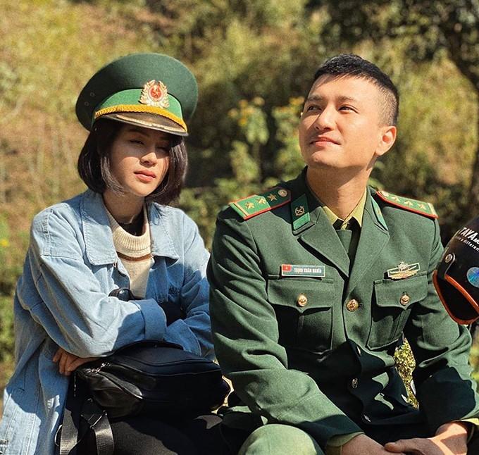 Huỳnh Anh trong phim Mùa xuân ở lại.