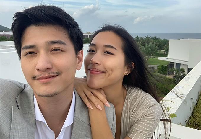 Huỳnh Anh và Y Vân hồi tháng 8/2019.