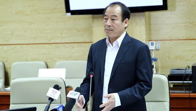 PGS.TS Trần Đắc Phu phát biểu tại cuộc họp. Ảnh: VGP/Đình Nam