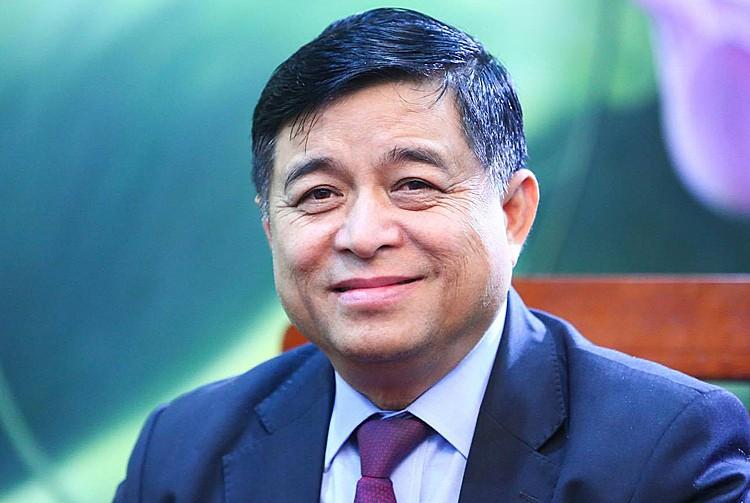 Bộ trưởng Kế hoạch & Đầu tư Nguyễn Chí Dũng.Ảnh: MPI