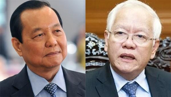 Cách chức nguyên Bí thư TP HCM Lê Thanh Hải, cảnh cáo ông Lê Hoàng Quân