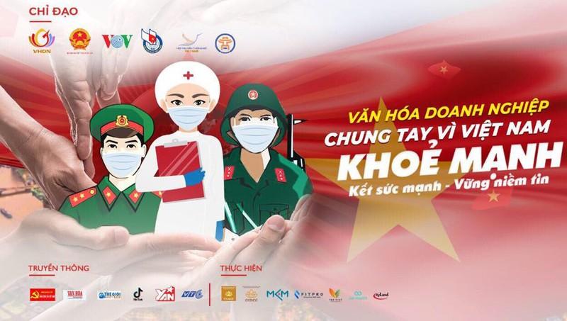 Phát động doanh nghiệp chung tay 'Vì Việt Nam khỏe mạnh'