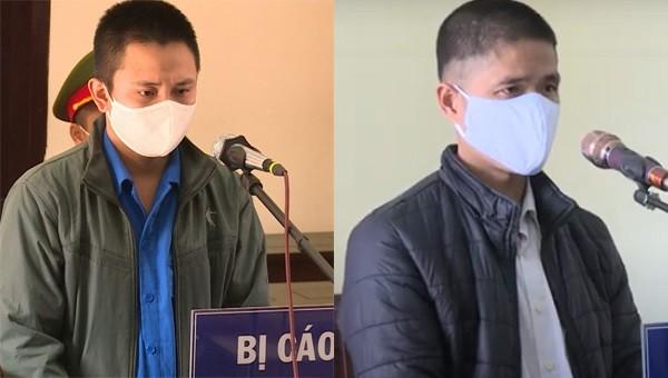 Ngông nghênh không đeo khẩu trang còn xúc phạm cán bộ phòng dịch, 2 trai làng vào tù