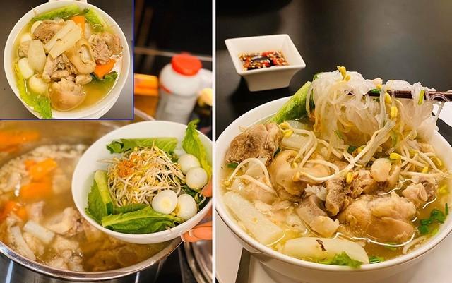 Ở nhà chống dịch, Chi Bảo thường xuyên vào bếp nấu ăn cho vợ - 3