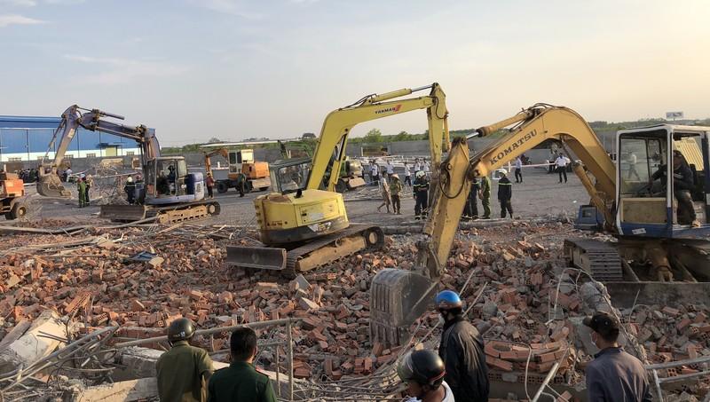 Thủ tướng yêu cầu xử nghiêm vi phạm gây sập công trình làm chết 10 người ở Đồng Nai