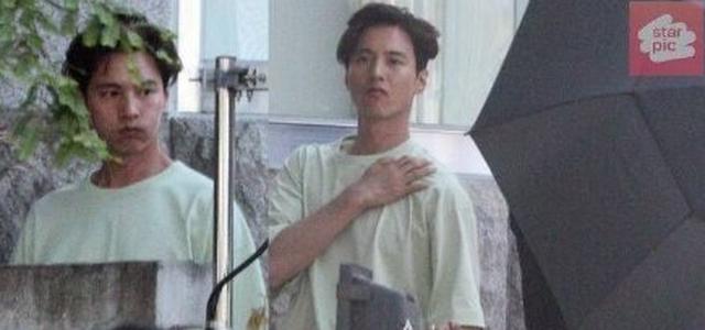 """Bị chụp trộm, Won Bin vẫn khẳng định nhan sắc """"mỹ nam"""" - 6"""