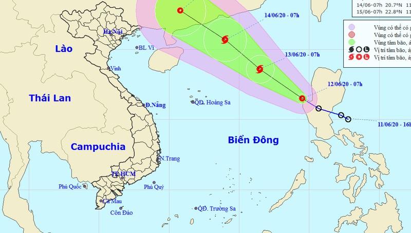 Áp thấp nhiệt đới hoành hoành biển Đông, tàu thuyền vùng Bắc Hoàng Sa rủi ro cao