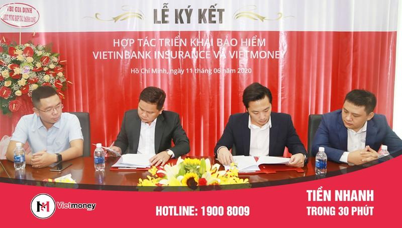 Bảo hiểm VBI ký kết thỏa thuận hợp tác bảo hiểm với Vietmoney