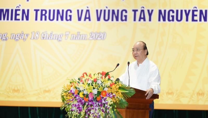 Thủ tướng Nguyễn Xuân Phúc phát biểu khai mạc Hội nghị. - Ảnh: VGP/Quang Hiếu