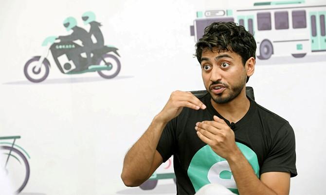 Fahim Saleh, CEO hãng gọi xe công nghệ Gokada. Ảnh: Reuters.