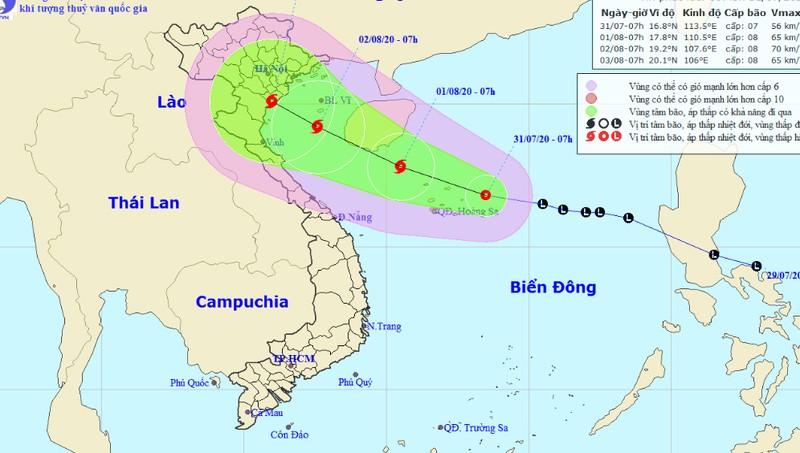 ATNĐ khả năng mạnh thành bão hướng tới Bắc Bộ, Bắc Trung Bộ