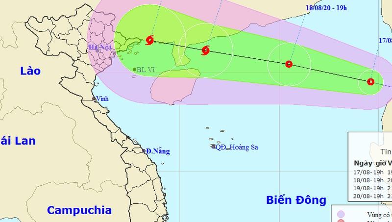 ATNĐ không ngừng mạnh thêm, Hà Nội và nhiều tỉnh trong vùng ảnh hưởng