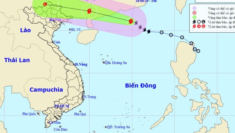 Bão di chuyển nhanh vào đất liền, nhiều tỉnh miền Bắc lại mưa lớn