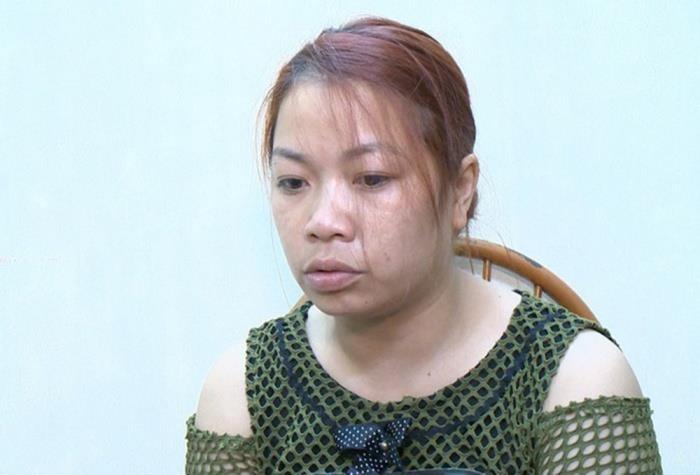 Nguyễn Thị Thu - nghi phạm bắt cóc bé trai 2 tuổi ở Bắc Ninh.