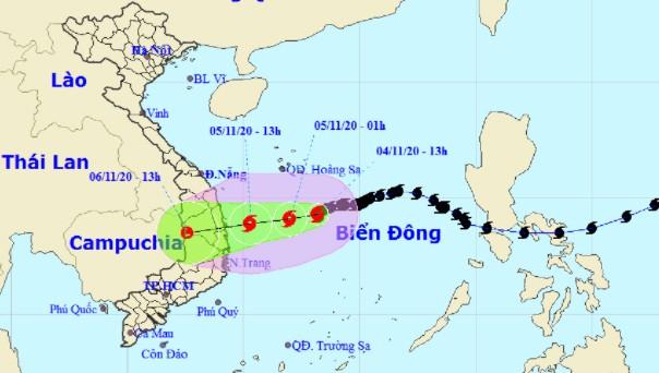 Sắp mưa to đến rất to từ Hà Tĩnh - Phú Yên do bão số 10