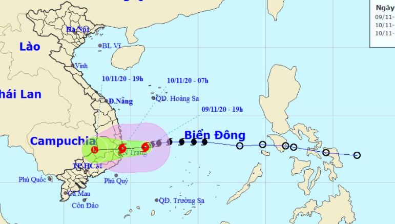 Bình Định, Bình Thuận di dời hàng chục ngàn dân khỏi vùng nguy hiểm