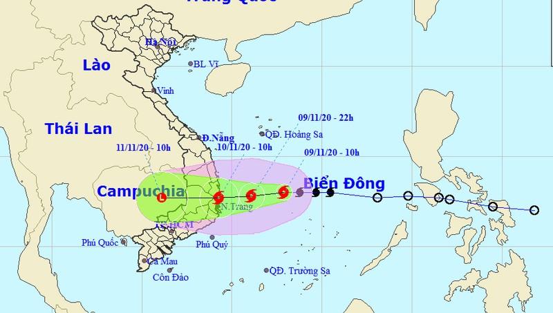 Đêm nay đồng loạt bắn pháo hiệu, sáng mai bão đổ bộ Bình Định - Ninh Thuận
