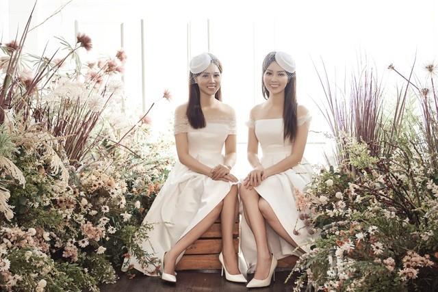 Á hậu Thuỵ Vân hứa chọn váy cưới cho bạn gái NSND Công Lý ngày lên xe hoa - 1